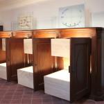 Casa Ravera - Bene Vagienna,  Salles muséales.  Opérations effectuées : restauration et remise en fonction du meuble pour la sacristie