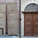 Prima e Dopo | Casa Ravera - Bene Vagienna, Portone d'ingresso