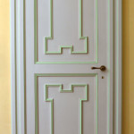 Riproduzione di porta in stile Luigi XVI