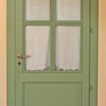 Riproduzione di porta con chiambrana