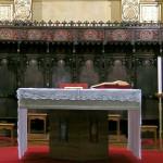 Église de Sant'Ippolito -  Bardoneccchia,  Chœur en bois du XVI siècle