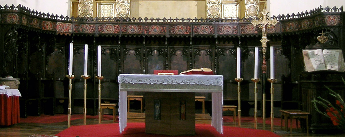 Massimo ravera restauro arredo sacro benevagienna cuneo for Arredo chiesa