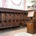 Église de San Francesco -  Bene Vagienna,  Chœur en bois du XVI siècle