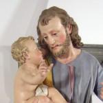 Casa Ravera -   Bene Vagienna,  San Josef avec Enfant Jésus du XIX siècle